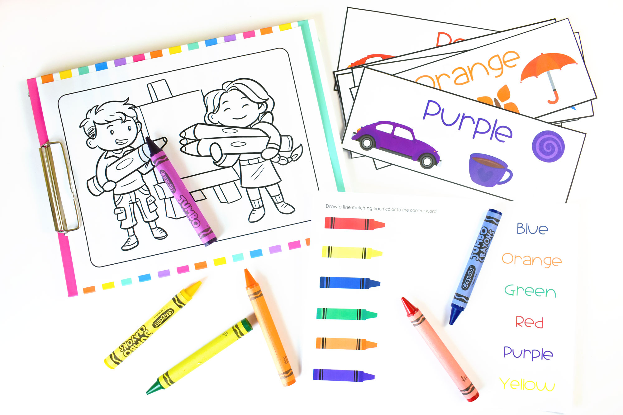 World Color Day - All About Colors for Kids Printable Pack | HolidayPrintables.net #colors #colorday #holidayprintables #weloveprintables #homeschoolprintables #printables #printableforeducation