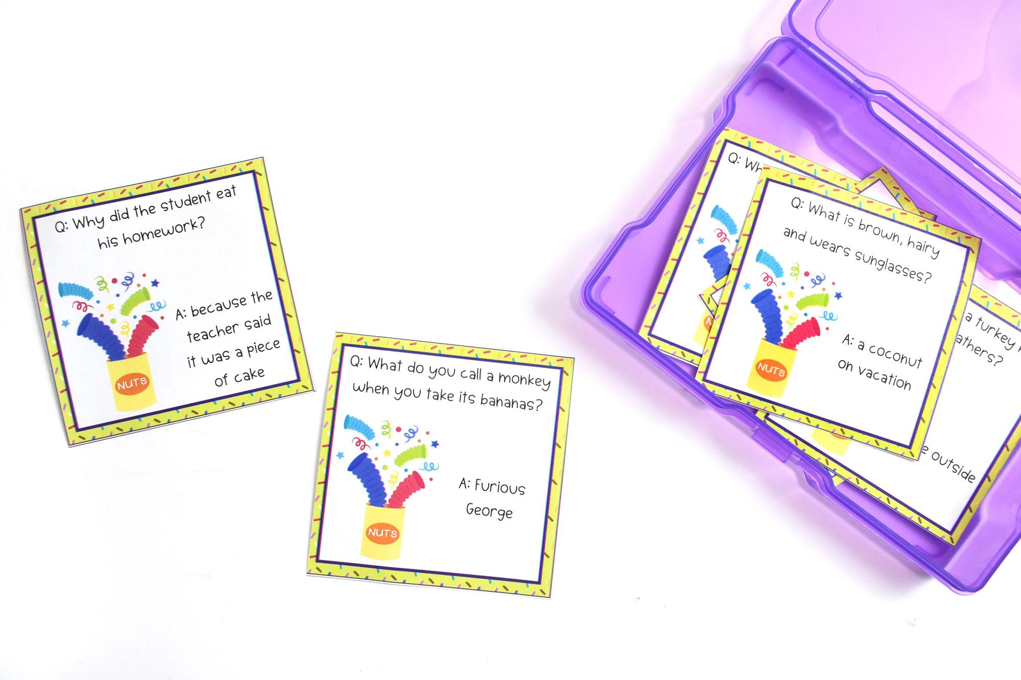 April Fools Day Joke Cards Free Printables | HolidayPrintables.net #printables #holidayprintables #weloveprintables #printablesforkids #educationprintables #homeschoolprintables